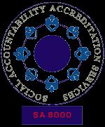 SA8000 logo
